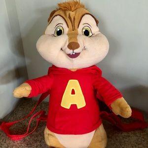 Alvin & the Chipmucks Plush Backpack